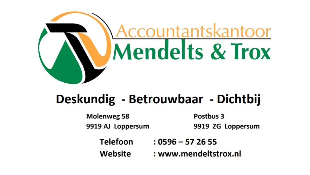Mendelts & Trox advertentie