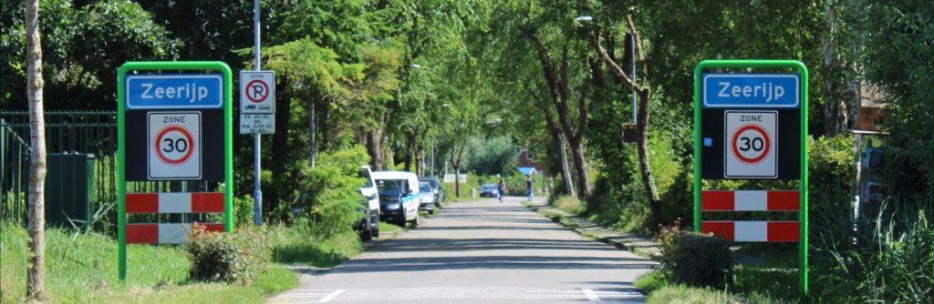 dorpsentree Zeerijp Molenweg