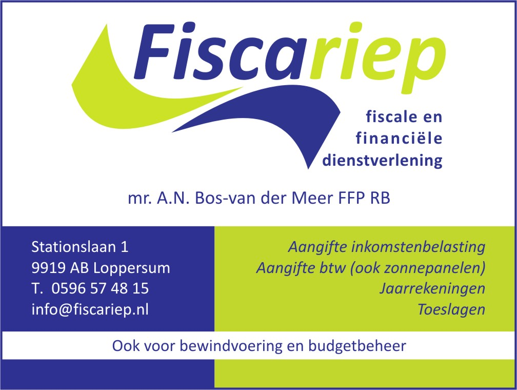 Advertentie Fiscariep
