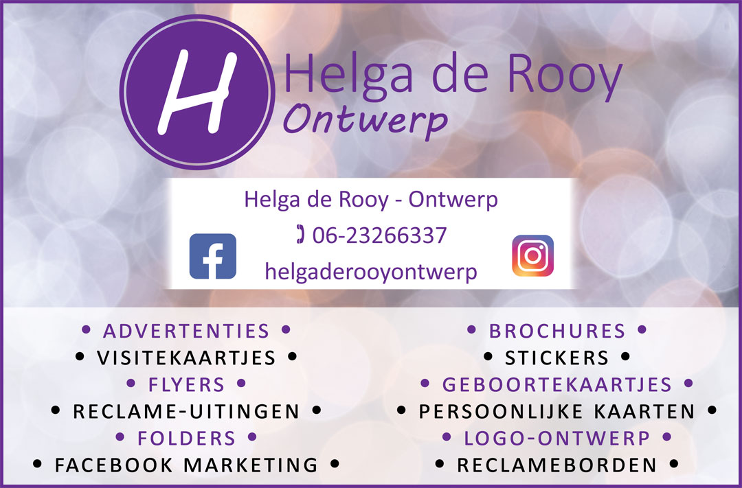 Helga de Rooy advertentie